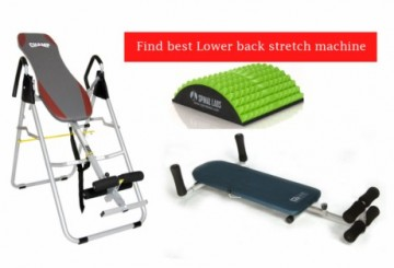 Lower back stretch machine : Find best for you
