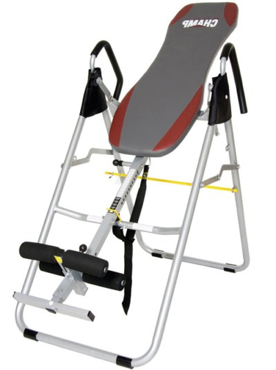 Lower back stretch machine - Body Champ IT8070 Inversion Therapy Table