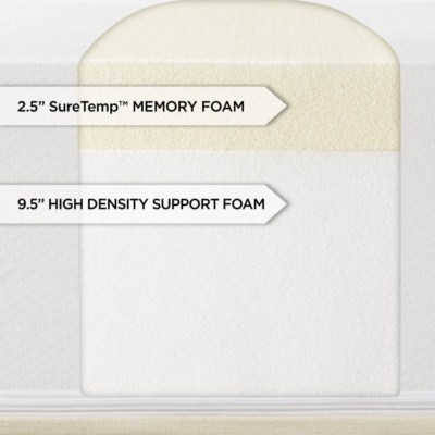 back pain during pregnancy - Sleep Innovations Shiloh 12-inch Memory Foam Mattress