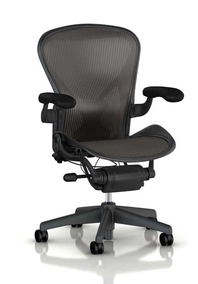 best office chair for lower back pain - Herman Miller Aeron Tilt Limiter Task Chair