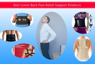 Best Lower Back Pain Relief Support Products