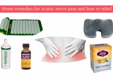 Home remedies for sciatic nerve pain and how to relief