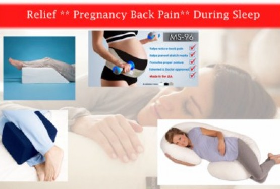 Five Recommended Pregnancy Back Pain Relief Product During Sleep