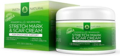 Pregnancy Back Pain - InstaNatural Stretch Mark & Scar Cream