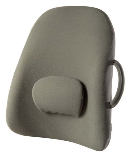 back support for office chair - Obus Forme Ergonomic Lowback Backrest Support with Strap