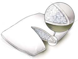 Pillow for Back pain - down pillow