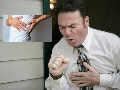back pain when coughing