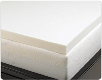 Best Mattress Toppers for Back Pain - Memory Foam Solutions 3-Inch Memory