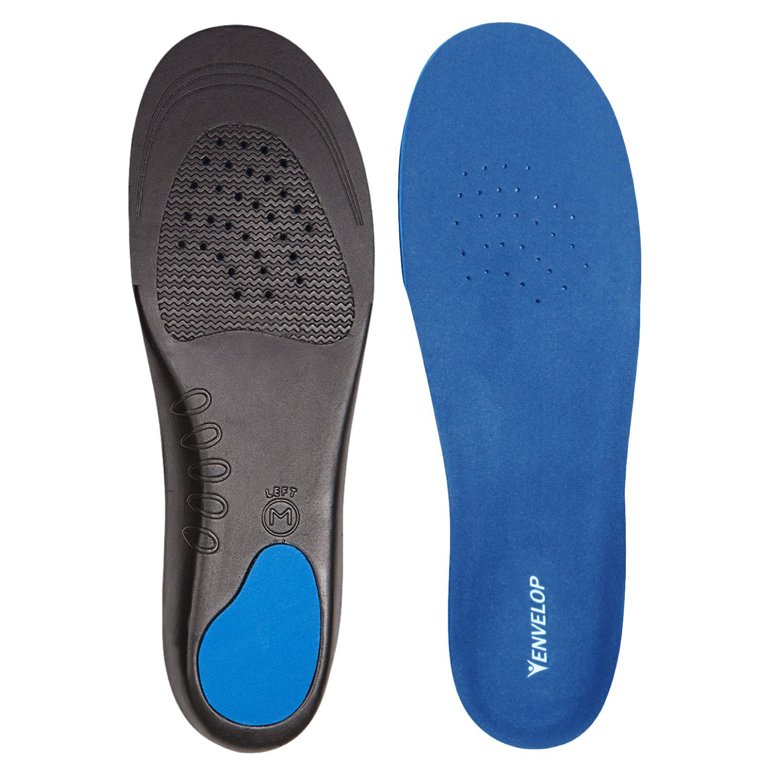Best Insoles for Plantar Fasciitis - Full Length Orthotics by Envelop