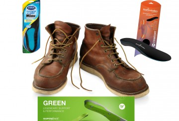 Five Best Insoles for Work Boots
