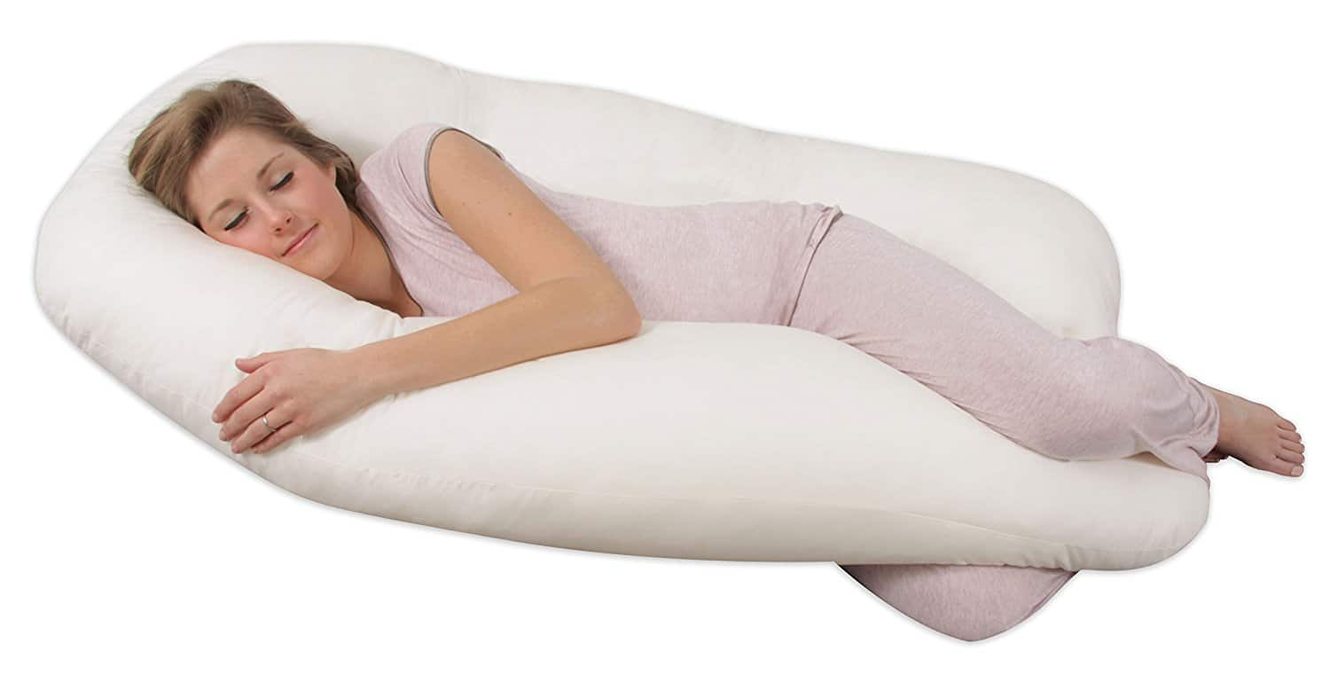 body pillow - Back 'N Belly Contoured Body Pillow Leachco