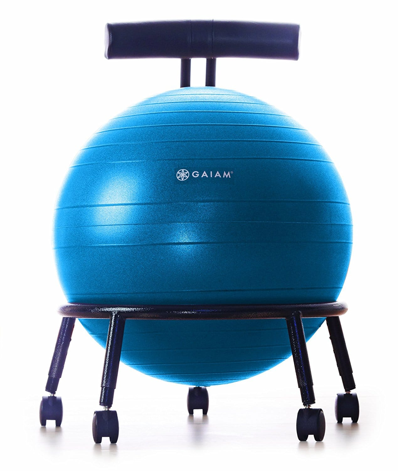 balance ball chair - Gaiam Custom Fit Adjustable Balance Ball Chair