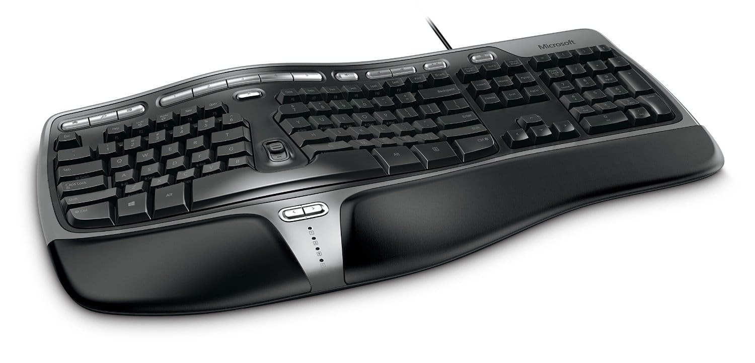 ergonomic keyboard - Microsoft Natural Ergonomic Keyboard 4000