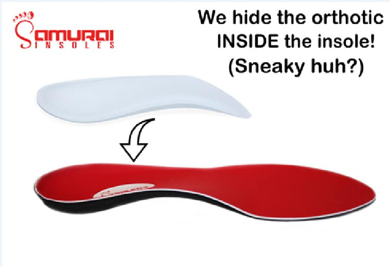 insoles for flat feet - Orthotics for Flat Feet by Samurai Insoles